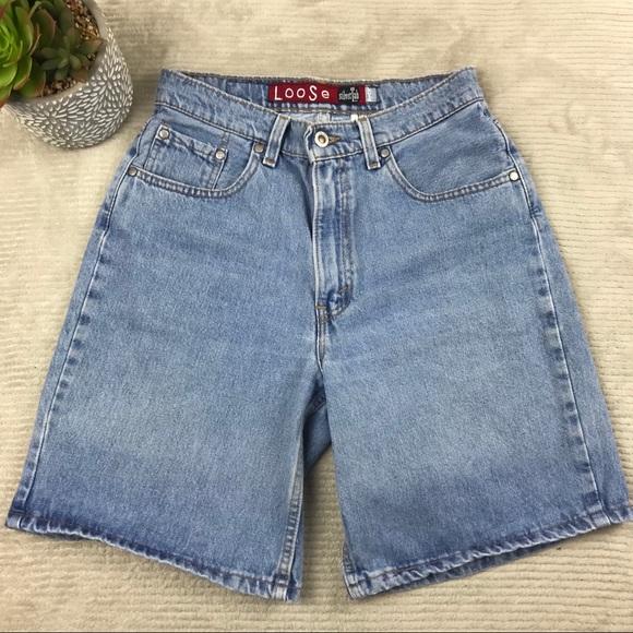 0d6b26e6 Vintage Shorts | Levis Silvertab 664 Loose Womens Jean Vtg | Poshmark